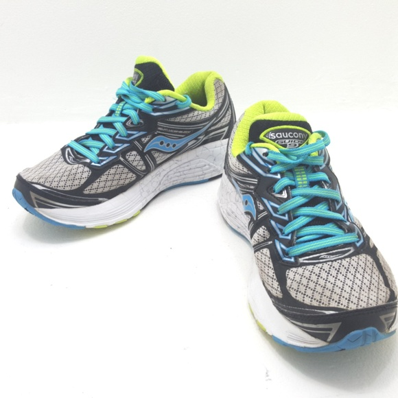 3a3911f1 Saucony Guide 9 Women's Running Shoes Size 5 Wide
